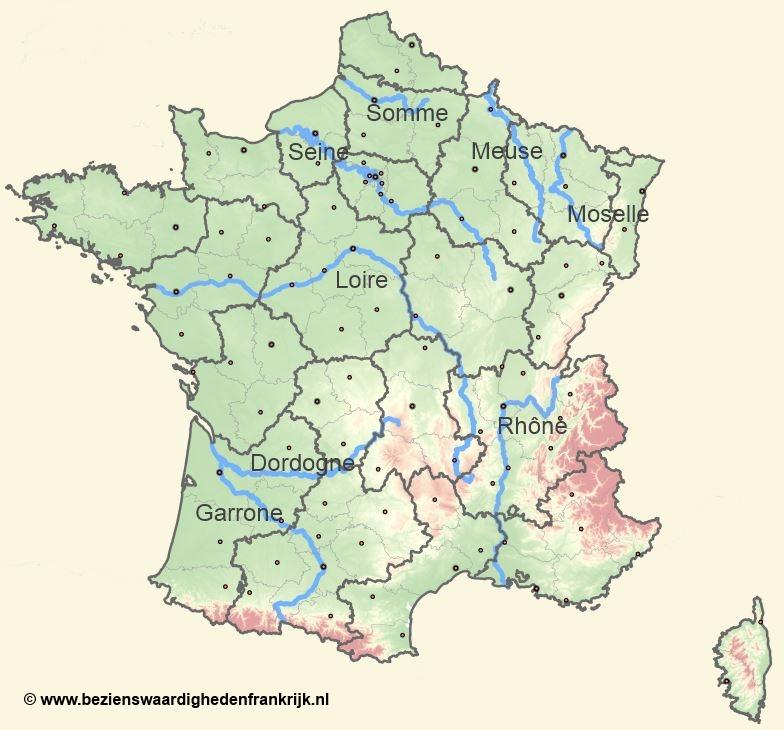 Rivieren Frankrijk
